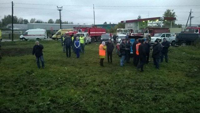 Пофакту столкновения автобуса ипоезда возбуждено уголовное дело