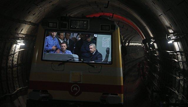 Пуск участка ТПК от Делового центра до Петровского парка