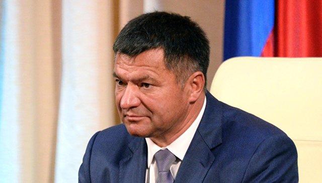 Губернатор Приморского края Андрей Тарасенко. Архивное фото