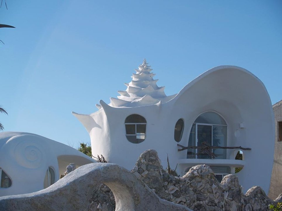 Особняк-раковина The Conch Shell House