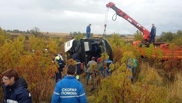 Уголовное дело возбудили из-за дорожного происшествия савтобусом вПодмосковье