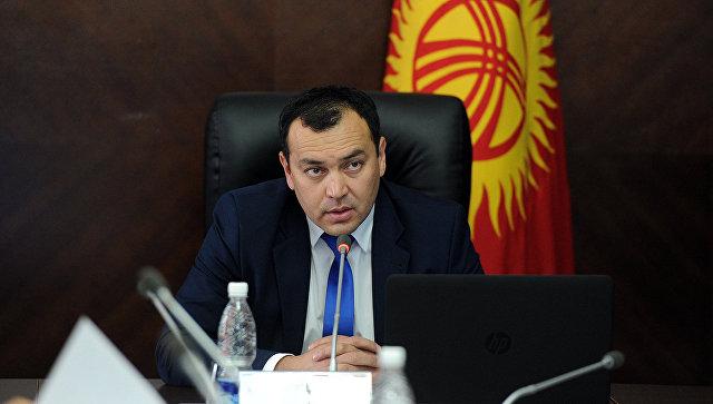Вице-премьер Киргизии Темир Джумакадыров. Архивное фото