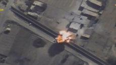 Атака ВКС РФ на позиции террористов возле сирийско-иранской границы