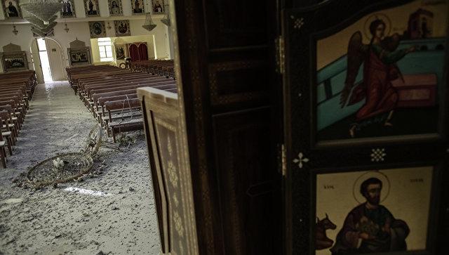 Церковь в центре Маалюли. Архивное фото