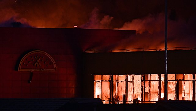 Потери «Синдики» из-за пожара составили около 4 млрд руб