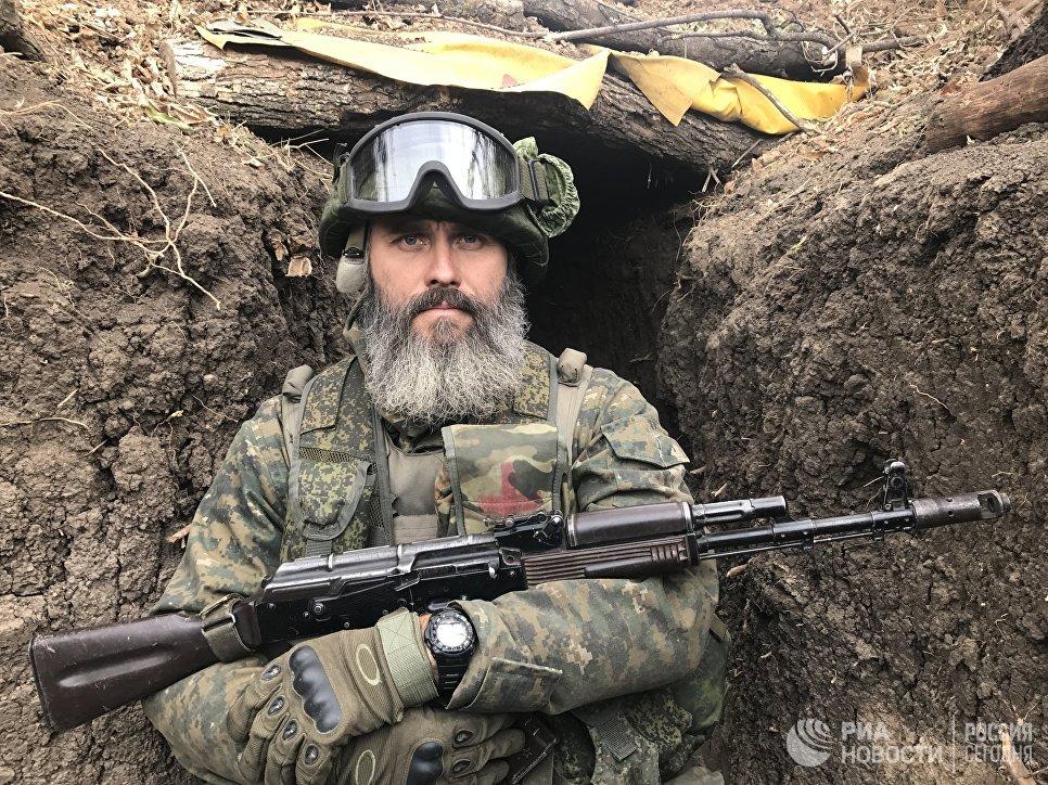 Боец разведывательно-штурмового батальона, позывной Кубань, Донбасс