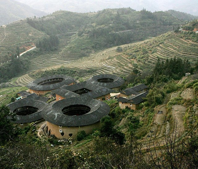 Тулоу в провинции Фуцзянь