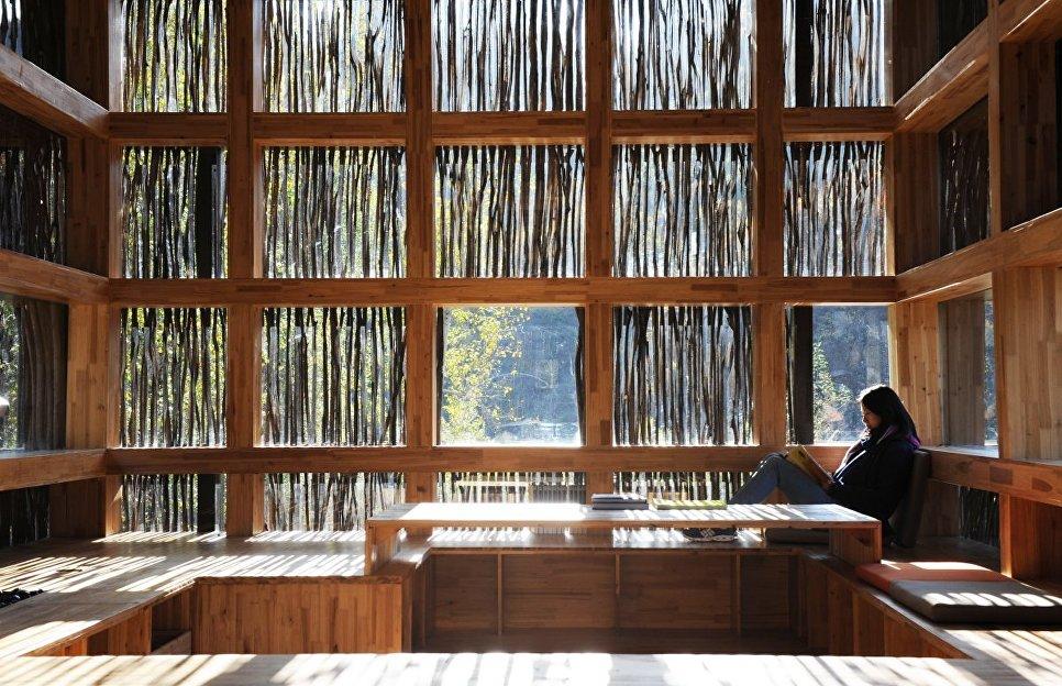 Liyuan Library внутри