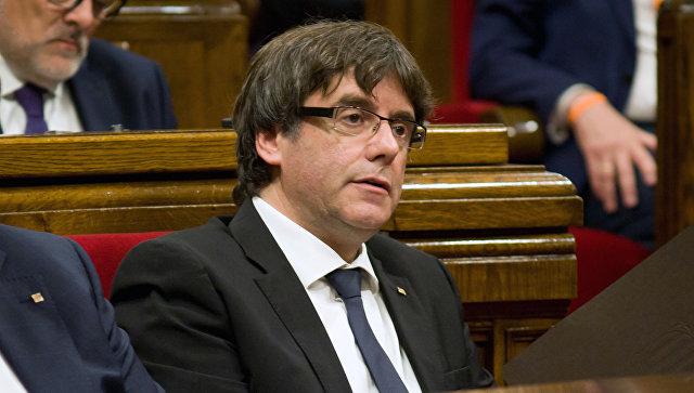 Пучдемон: Каталония готова к диалогу с Испанией без предварительных условий