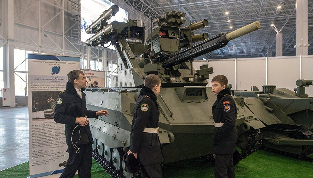 Специалисты изсоедененных штатов сообщили о преобладании русских военных роботов