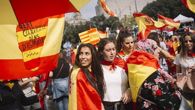 Еврокомиссия поддержала меры Мадрида в отношении Каталонии