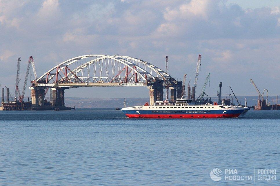 Какие работы ведутся в керченском проливе