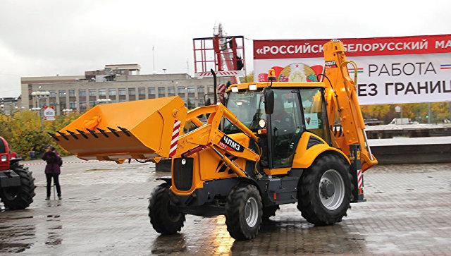 ВЧереповце запустили новейшую сборочную линию попроизводству тракторов «Беларус»