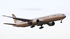 Самолет Боинг 777 авиакомпании Etihad Airways. Архивное фото
