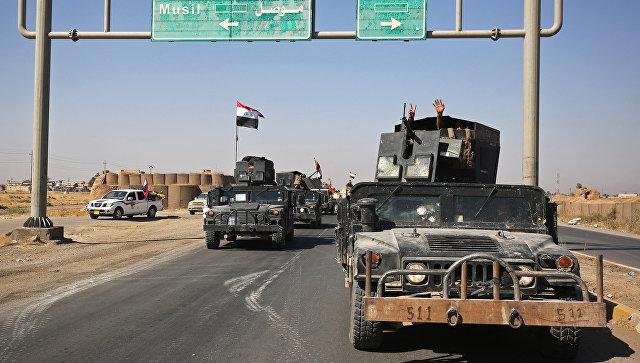 Военные Ирака сняли курдский флаг садминистрации провинции Киркук