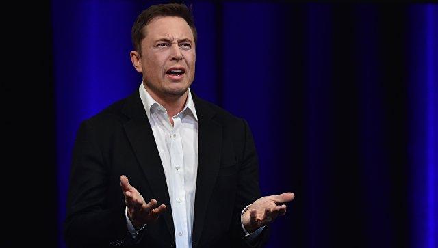 Предприниматель и основатель Tesla Илон Маск. Архивное фото