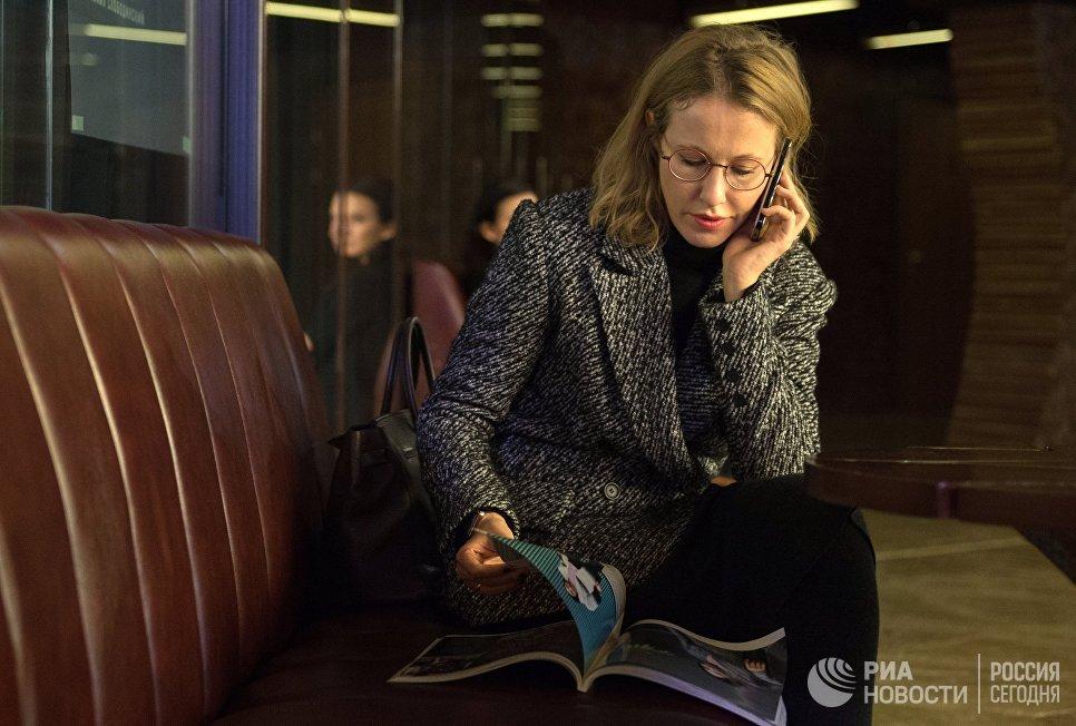 «Кандидат против всех». Ксения Собчак объявила ожелании баллотироваться впрезиденты