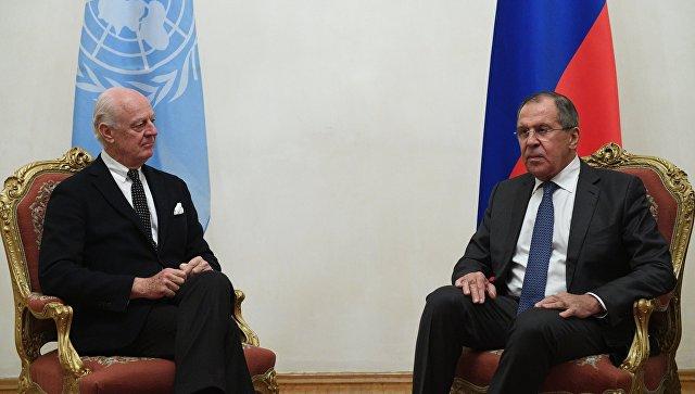Лавров: борьба стерроризмом вСирии вышла нарешающий рубеж