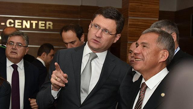 Министр энергетики РФ Александр Новак перед заседанием смешанной межправительственной Российско-Турецкой комиссии. 21 октября 2017