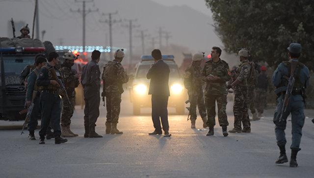 Афганские военнослужащие. Архивное фото