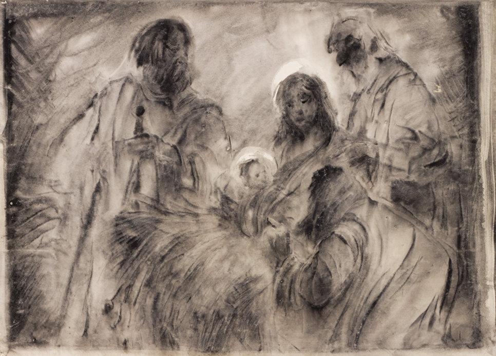 Работа художника Светозара Русакова