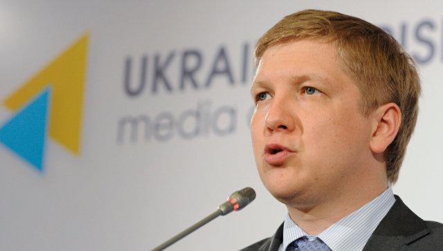 Глава НАК Нафтогаз Украины Андрей Коболев. Архивное фото