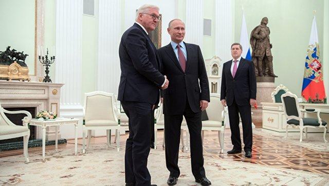 Штайнмайер высказался заулучшение отношений между Россией иГерманией