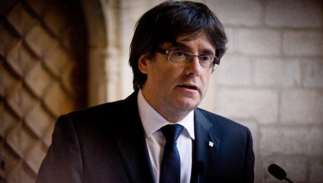 Глава женералитета Каталонии Карлес Пучдемон. Архивное фото