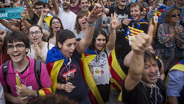 Южная Осетия может рассмотреть вопрос опризнании независимости Каталонии