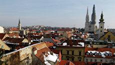 Города мира. Загреб. Архивное фото