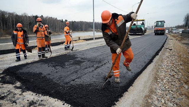 Реконструкция шоссе