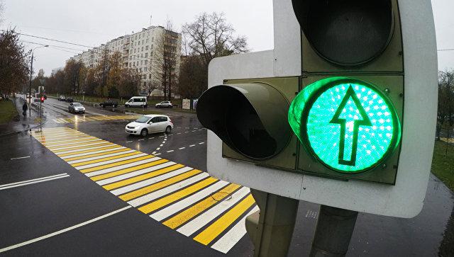 «Умные» светофоры насевере столицы сократили время впробках на40%