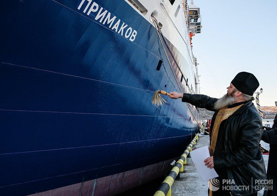 «Академик Примаков» исполнил детскую мечту Евгения Примакова