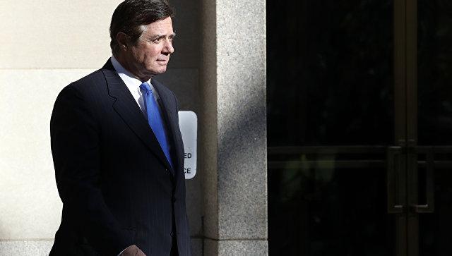 В Белом доме прокомментировали признание Манафортом вины