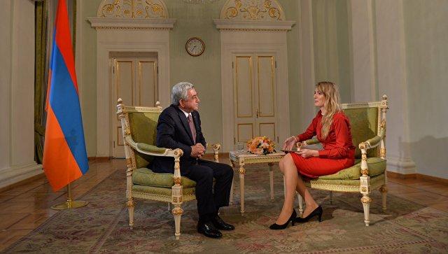 Серж Саргсян: на днях мы ждем новых поставок оружия из России