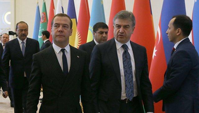 Медведев обозначил вред интернациональных картелей для экономик стран СНГ