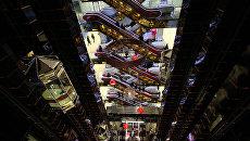 Торговый центр Европейский в Москве. Архивное фото