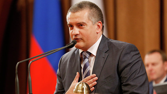 Глава Республики Крым Сергей Аксенов. Архивное фото
