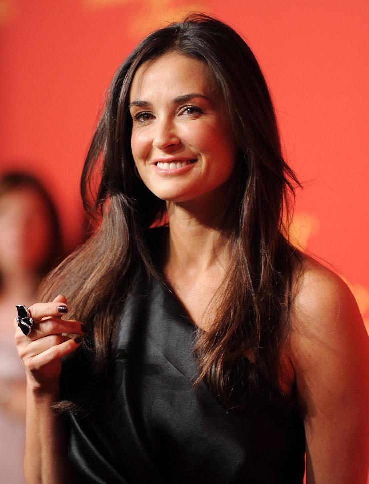 Актриса Деми Мур. 2009 год