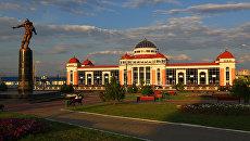 Железнодорожный вокзал в Саранске