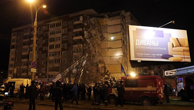 Шесть человек погибли при обрушении 9-этажки