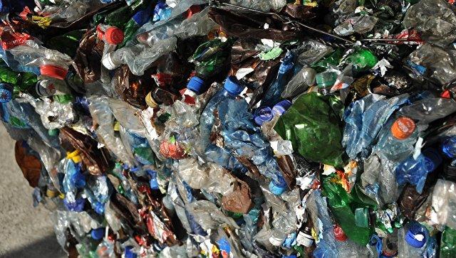 Мусор на мусоросортировочном заводе