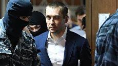 Дмитрий Захарченко в Пресненском суде города Москвы