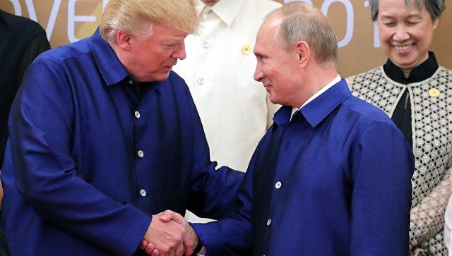 Кадыров увидел «медвежью хватку» в рукопожатии Путина и Трампа