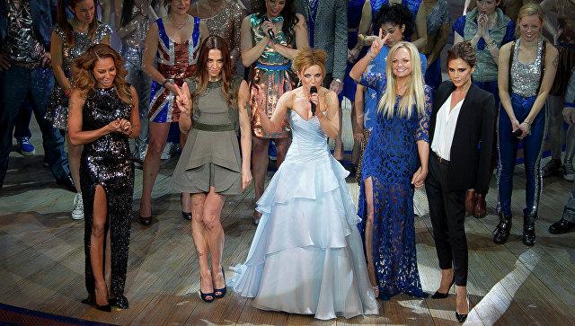 Spice Girls воссоединятся вполном составе