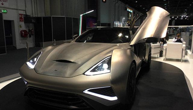 Титановый суперкар за 2,5 миллиона евро показали на автосалоне в Дубае
