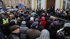 Прощание с Михаилом Задорновым в Риге. 15 ноября 2017