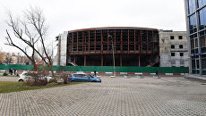Реконструируемое здание театра Сатирикон имени Аркадия Райкина. Архивное фото