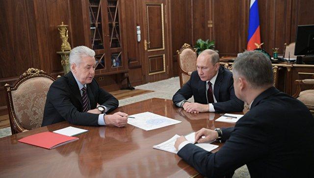 Путин поддержал строительство новой ветки наземного метро вМоскве