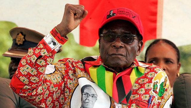 Президент Зимбабве Роберт Мугабе